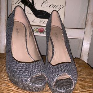 👠Silver Sparkle Heels